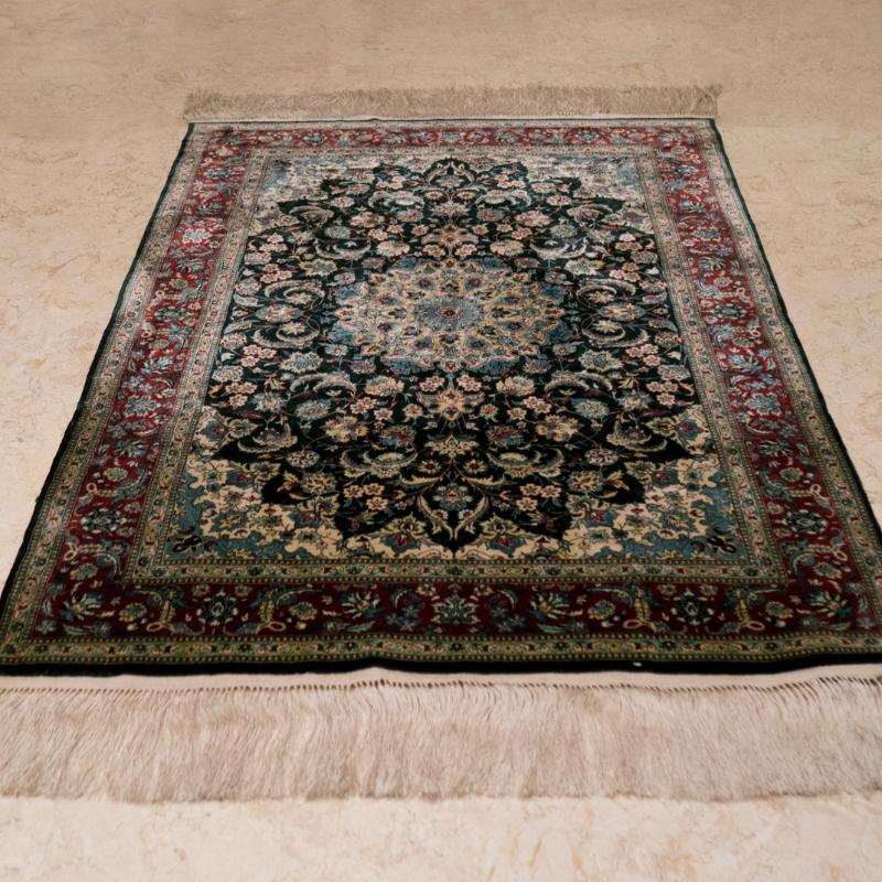 純手工絲毯#000385  2 x 3 (60 x 90 cm)