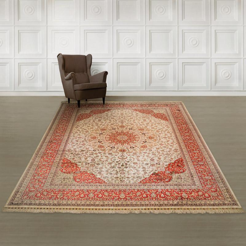 260道絲毯#001397  8.2 x 11.5 (246 x 345 cm)
