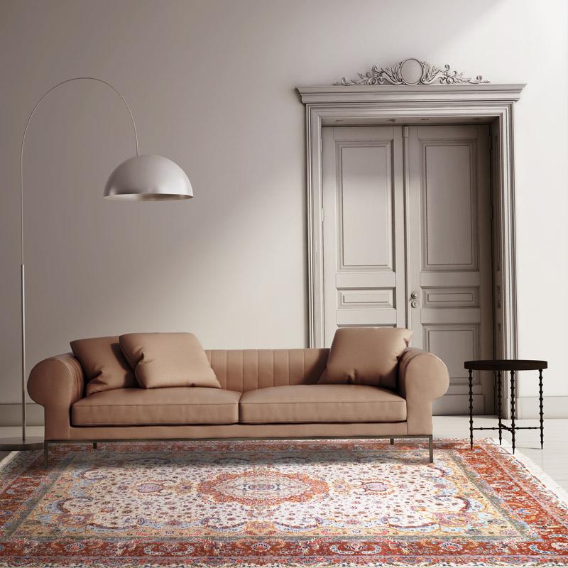 260道羊毛毯#003900  8 x 11 (240 x 330 cm)