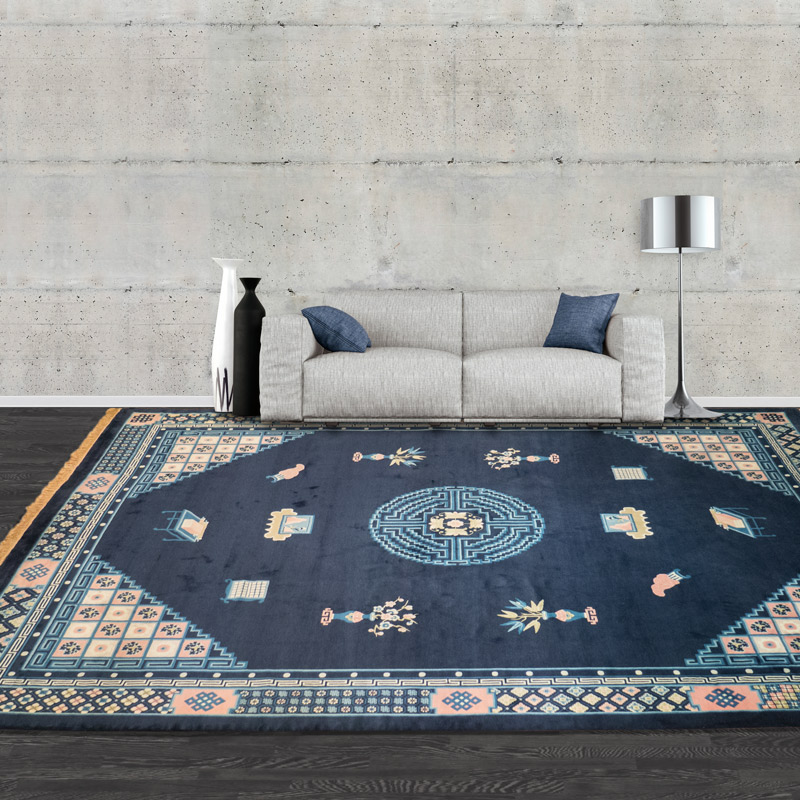 100道羊毛毯 #001316  9 x 12 (270 x 360 cm)