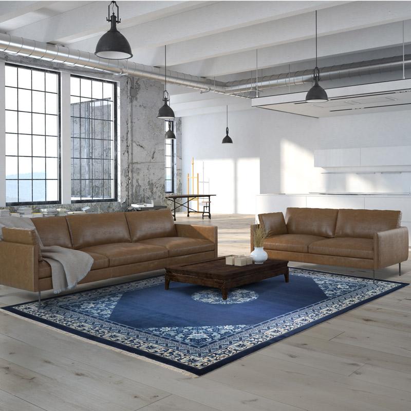 100道羊毛毯 #001317  9 x 12 (270 x 360 cm)