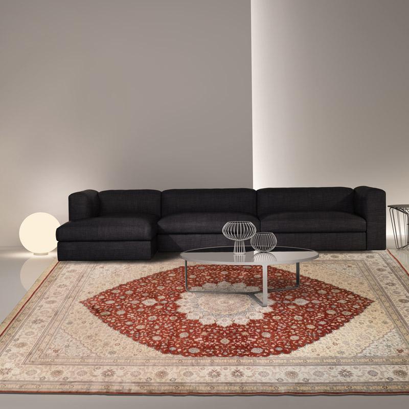 波斯手工毯 #000472  9 x 12 (270 x 360 cm)