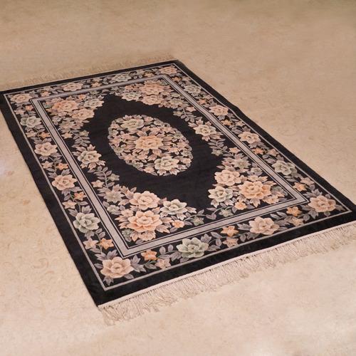 120道手工絲毯#001673  4 x 6 (120 x 180 cm)
