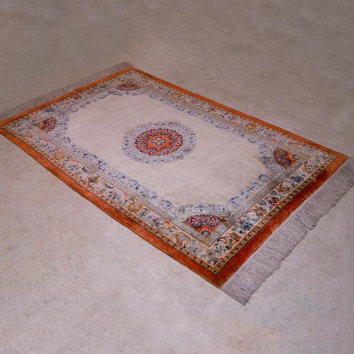 00707手工絲毯#001968  4 x 6 (120 x 180 cm)