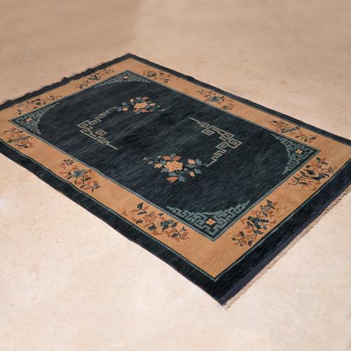 1014-202仿古羊毛手工毯#001650  4.5 x 6.5 (135 x 195 cm)