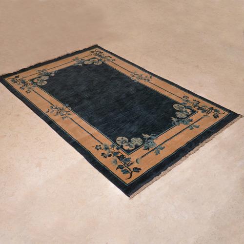 N707-202仿古羊毛手工毯#001651  4.5 x 6.5 (135 x 195 cm)