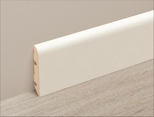 白色踢腳板 2400 x 14 x 60 mm