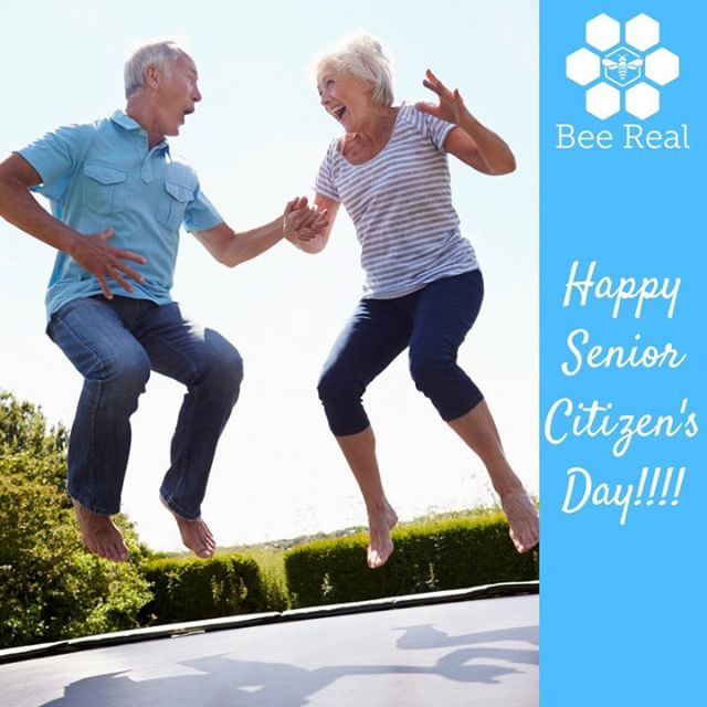 Age is definitely a mindset!!! #beereal #beerealskincare #stayyoung #seniorcitizens