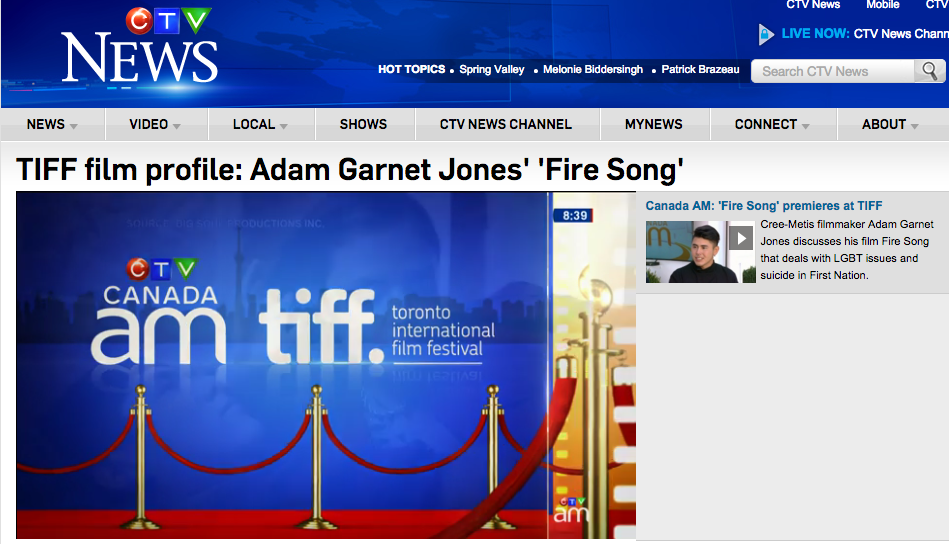 Adam Garnet Jones Fire Song
