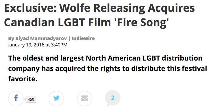 Adam garnet Jones Fire Song Indiewire Wolfe