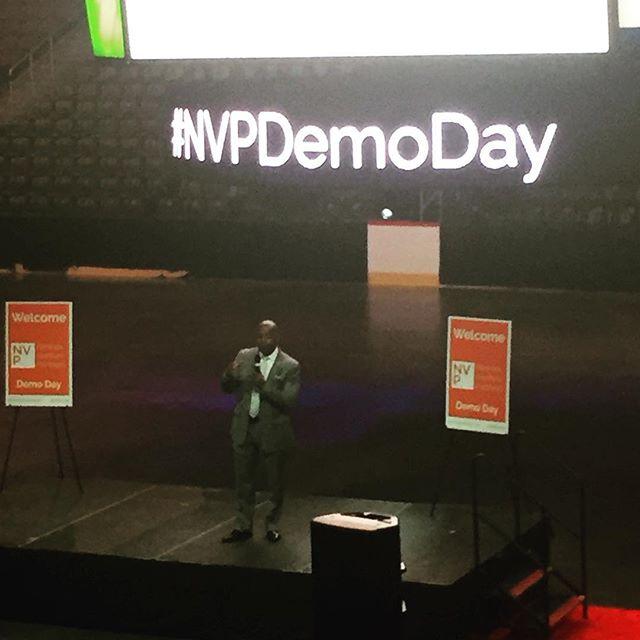 Mayor of Newark, @rasjbaraka introducing NewarkVenture Partners Demo Day #nvpdemoday #njtech #startup #venture #nj