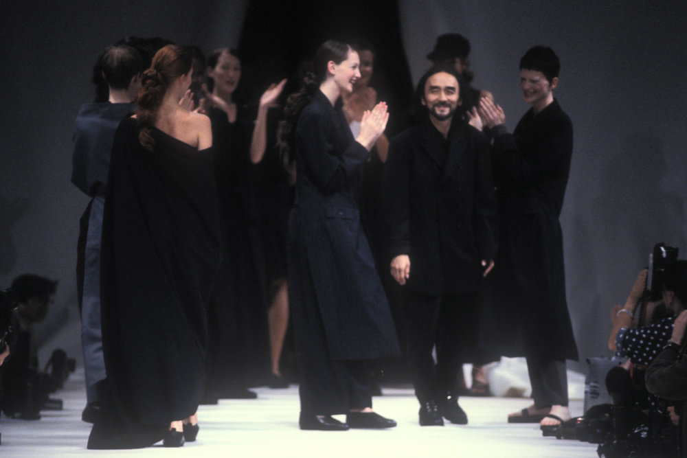 Designer Yohji Yamamoto featured in the film,  Antifashion  (courtesy m2m.tv).