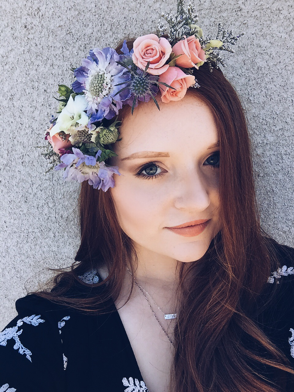 Boho Crown: asymmetrical & unique floral combination