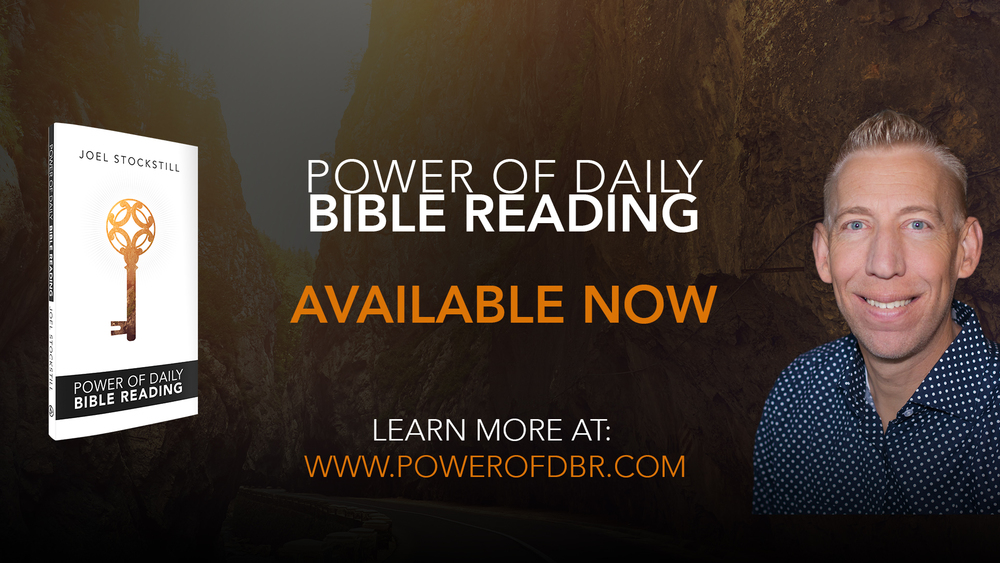 "Slide to reference Joel's newest book ""Power of Daily Bible Reading"" (Click for fullscreen)"