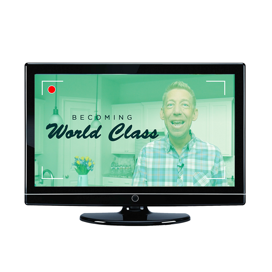 BECOMING WORLD CLASS - Great isn't good enough. The only way to accomplish the vision in your heart is to become WORLD CLASS! Let me give your team the keys to becoming a world class.