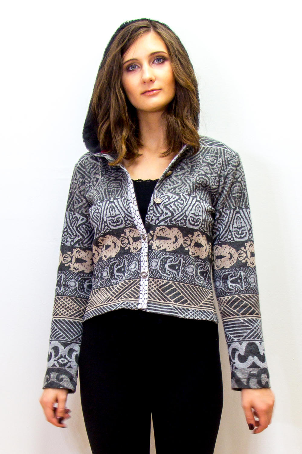 Hooded Cardigan S1