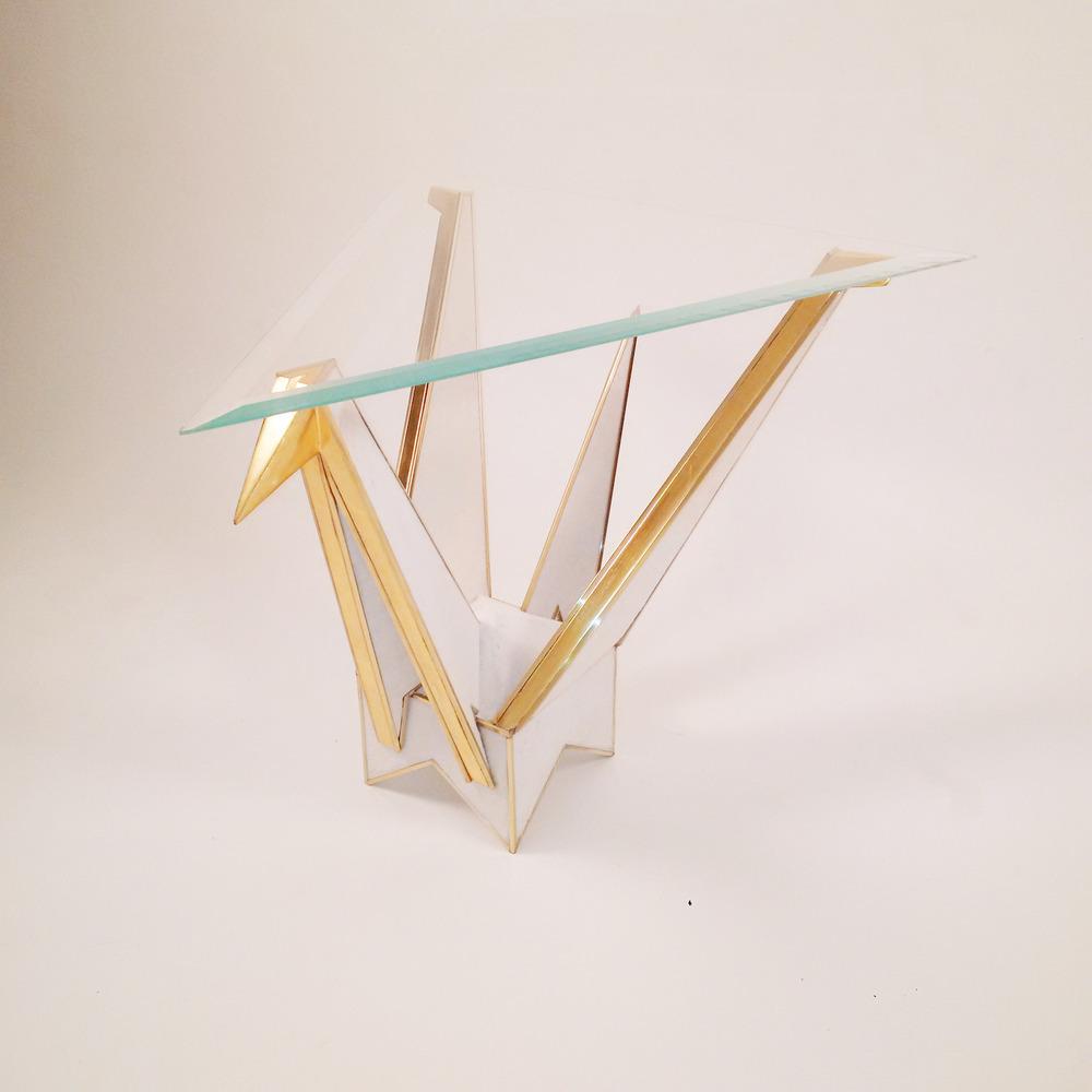 Origami Swan Sidetable