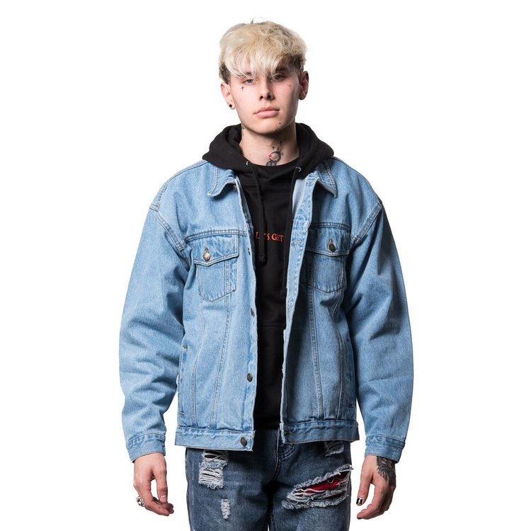 Electric Denim Jacket —