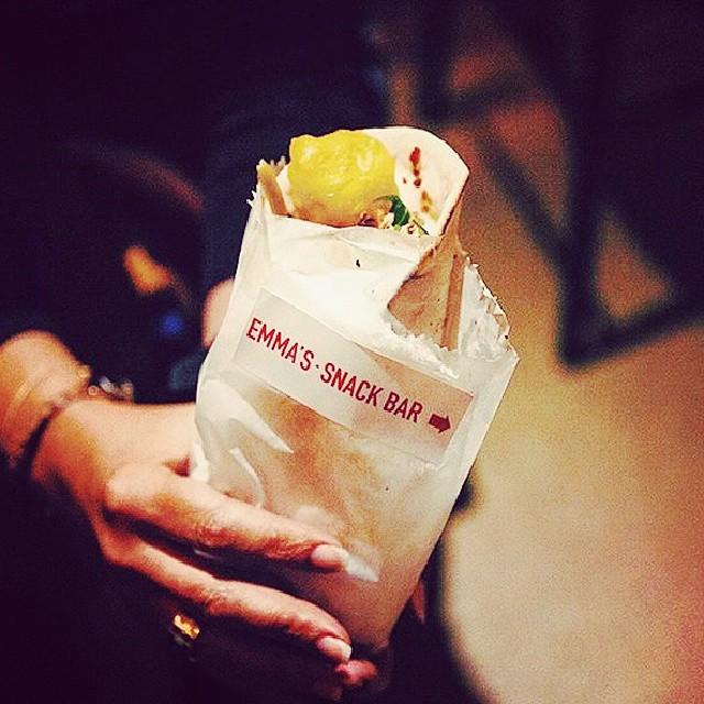Come n get some #snack  #kebabs #lebanesefood #falafel # enmore # newtown