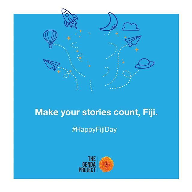 We've come a long way. Make your stories count. Happy Independence Day, Viti! 🇫🇯 . - Team Genda 🌼 . #HappyFijiDay #Fiji