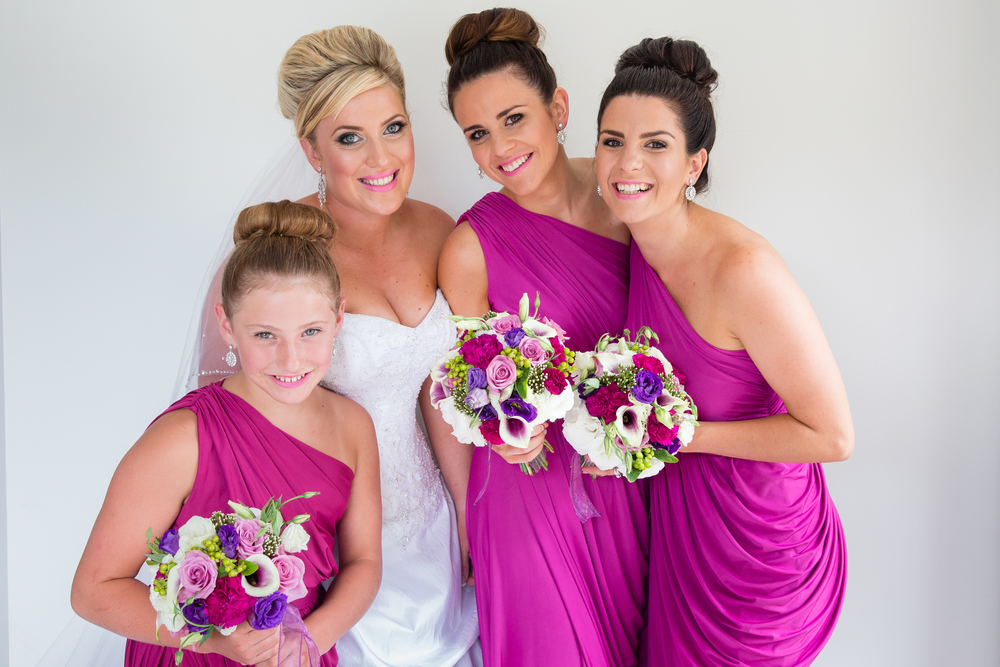 Purple bridesmaid inspiration  | Astra Bridal bride Katie | Nelson Wedding Photography | www.borrowedandblue.kiwi