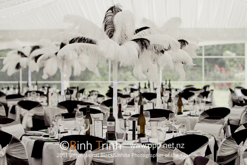 Black and White Wedding decor | Featured Bride Holly | Photography by Bihn Trin | www.borrowedandblue.kiwi
