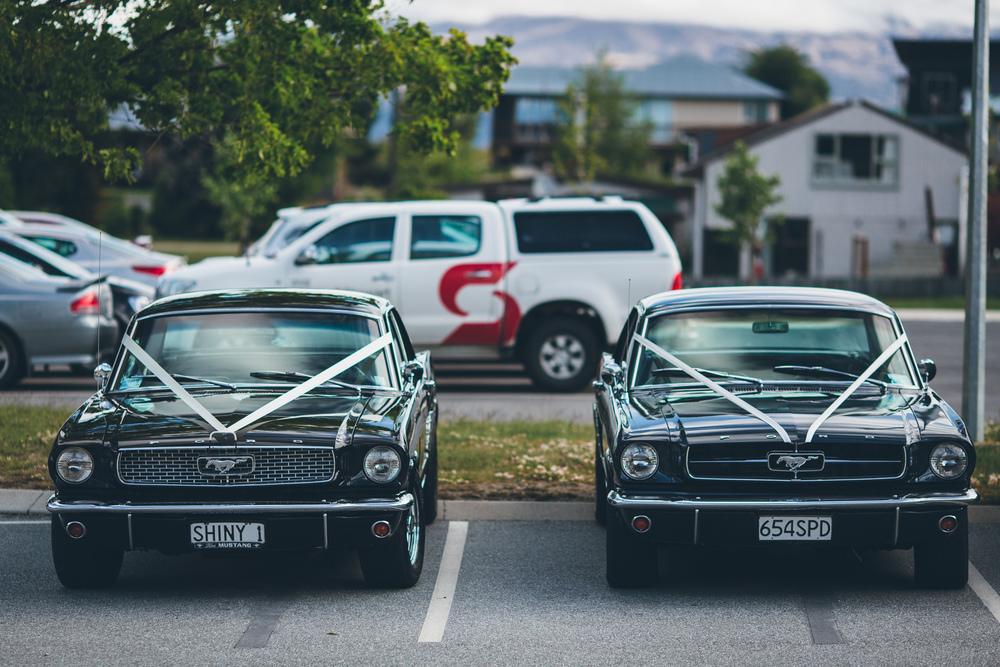 Wedding transport | Lake Hawea wedding Wanaka | Astra Bridal bride Tania | Photography by Jim Pollard goes Click | www.borrowedandblue.kiwi
