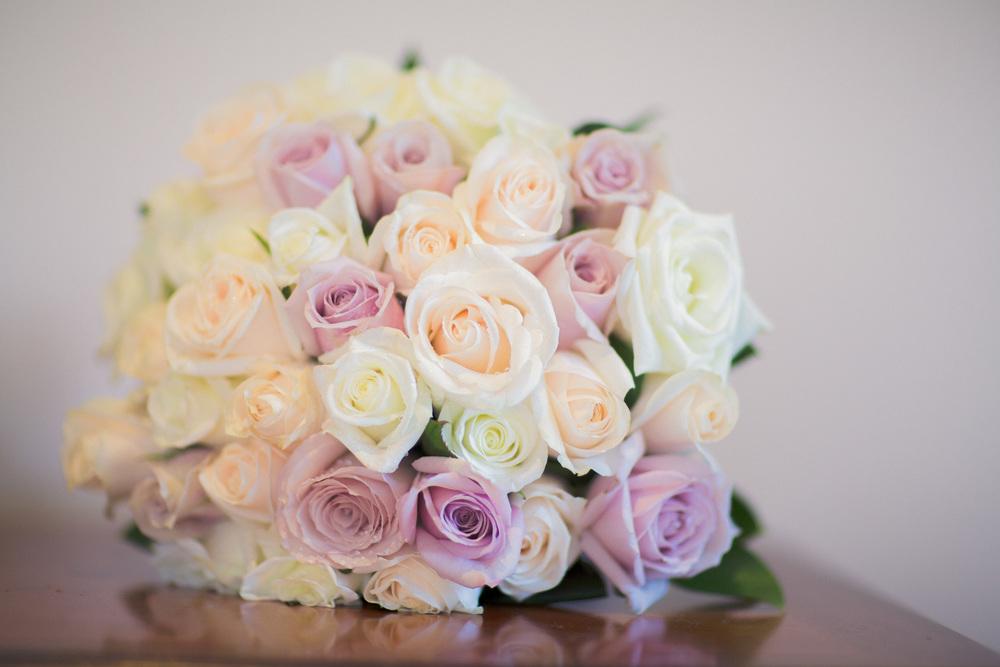 roses bridal bouquet | Astra Bridal Featured Bride Courtney | Williams Photography | www.borrowedandblue.kiwi