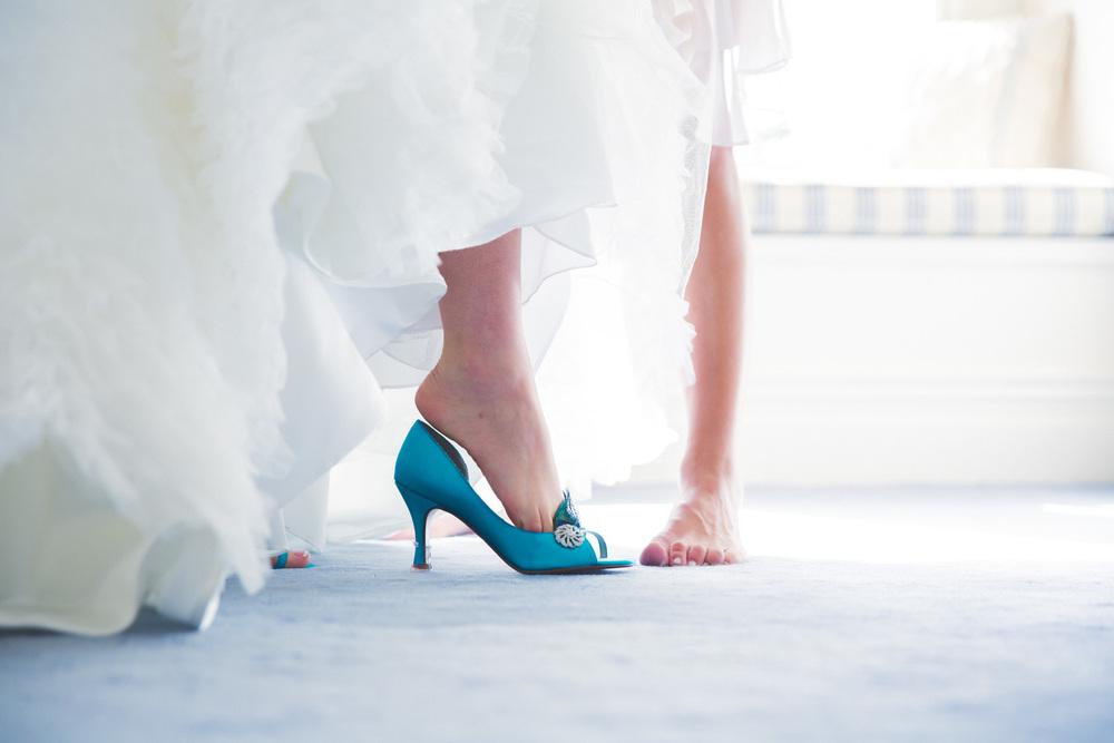 Wedding shoes | Astra Bridal Featured Bride Courtney | Williams Photography | www.borrowedandblue.kiwi