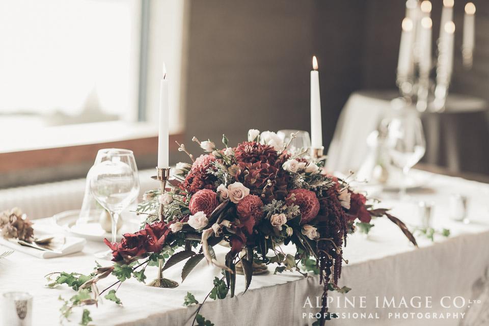 table decor | Wanaka Wedding Shoot | Photography by Alpine Image Co | www.borrowedandblue.kiwi