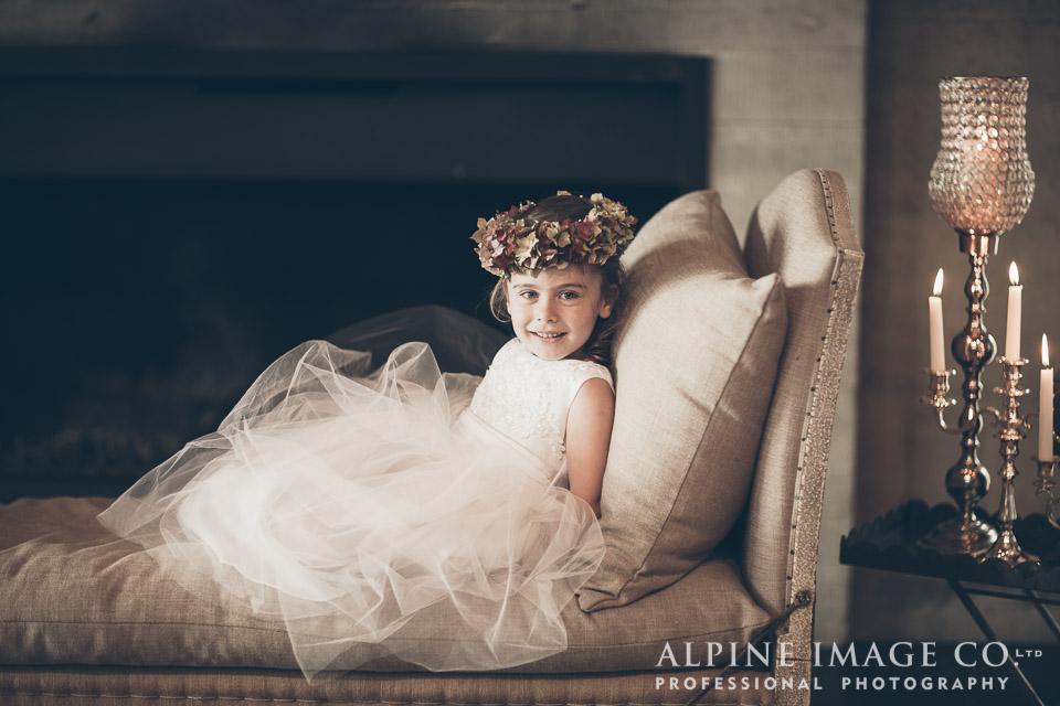 Flowergirl | Wanaka Wedding Shoot | Photography by Alpine Image Co | www.borrowedandblue.kiwi