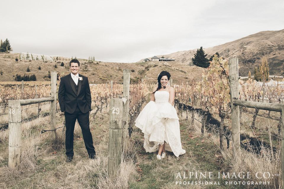 Vineyard wedding | Wanaka Wedding Shoot | Photography by Alpine Image Co | www.borrowedandblue.kiwi