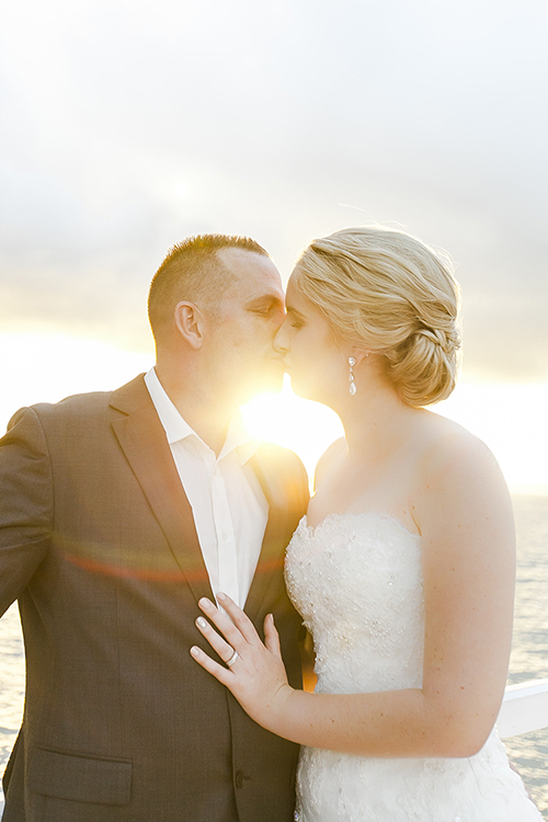 Sealed with a Kiss | Photo - Kate Robinson | Astra Bride Monique | #Bonnybride |