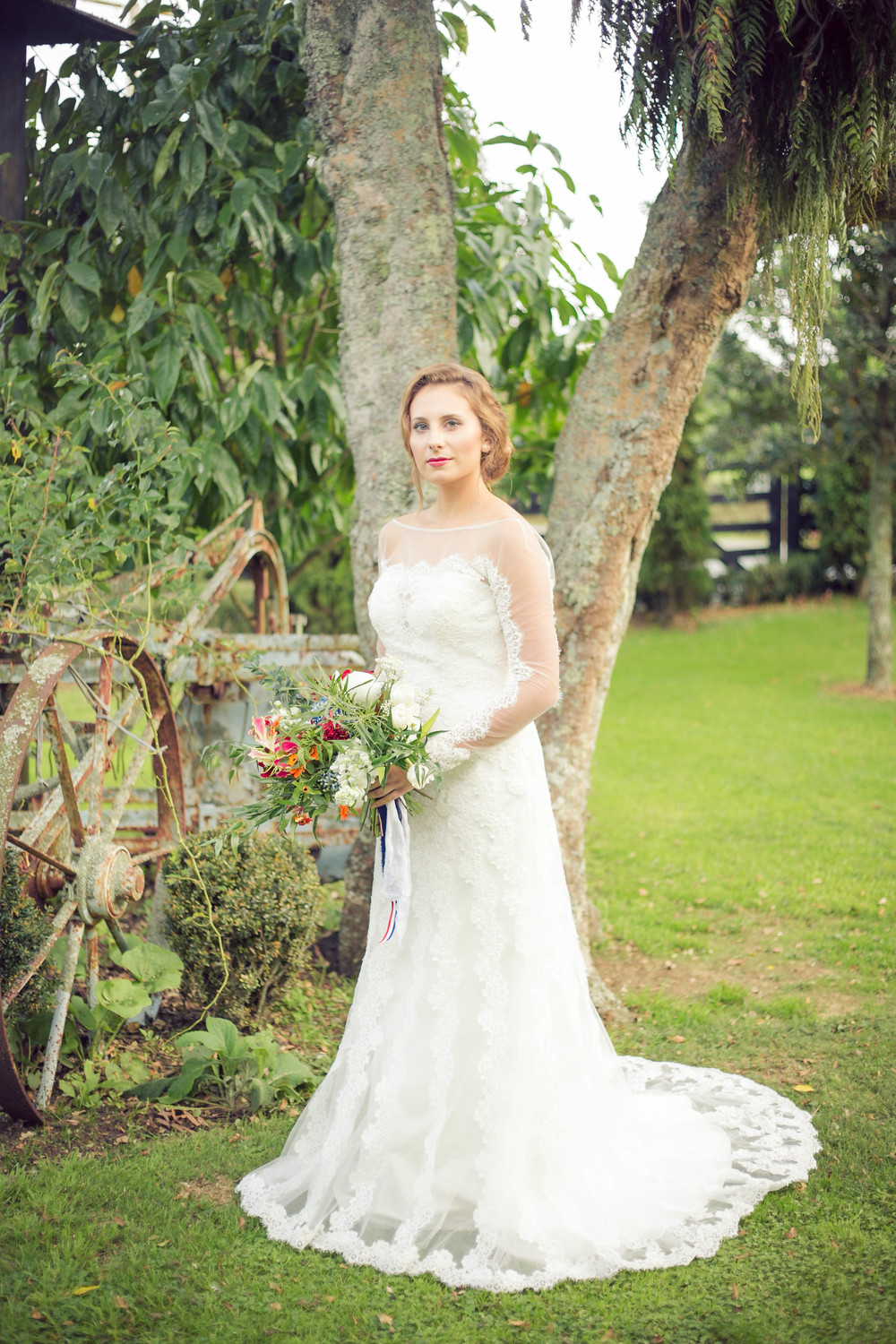 Wedding dress inspiration | Dutch wedding shoot | Photography by Tranquility Photography | Gown available at Astra Bridal | www.borrowedandblue.kiwi