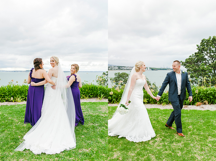 Okahu Bay | Photo - Kate Robinson | Astra Bride Monique | #Bonnybride |