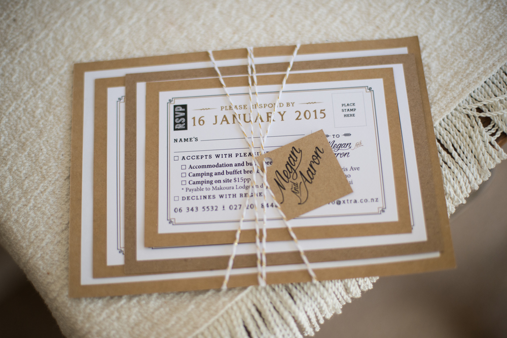 Wedding invite inspiration | Astra Bridal Bride Megan | Photography by Laura Ridley | www.borrowedandblue.kiwi
