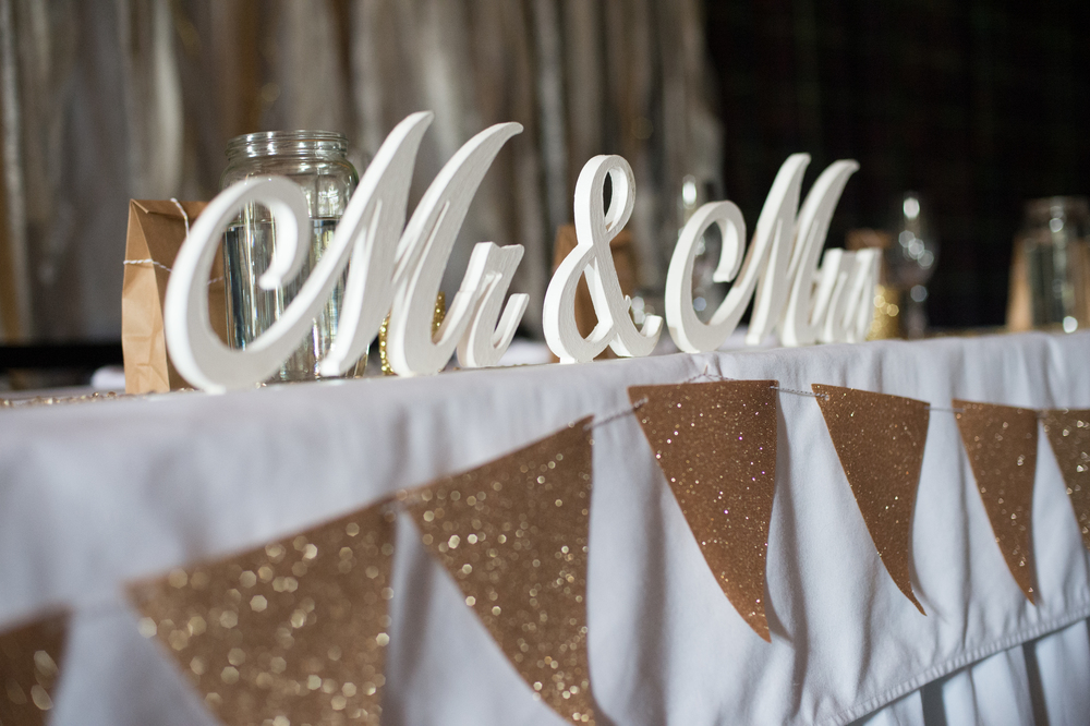 Gold table decor | Astra Bridal Bride Megan | Photography by Laura Ridley | www.borrowedandblue.kiwi