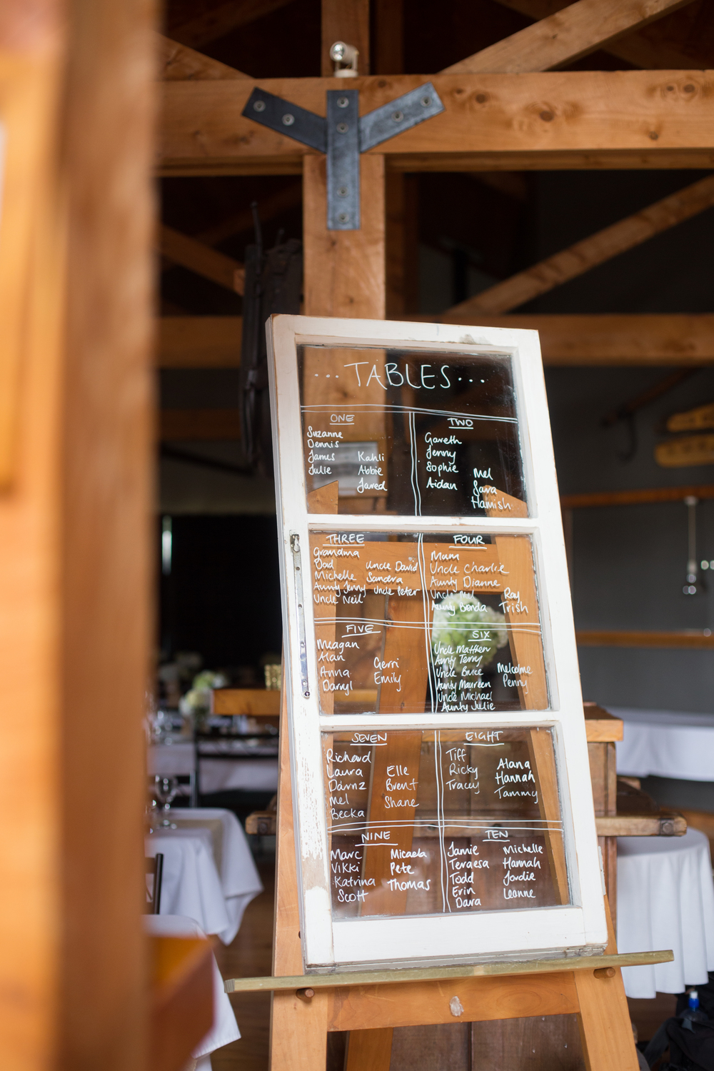 Wedding table seating sign | Astra Bridal Bride Megan | Photography by Laura Ridley | www.borrowedandblue.kiwi