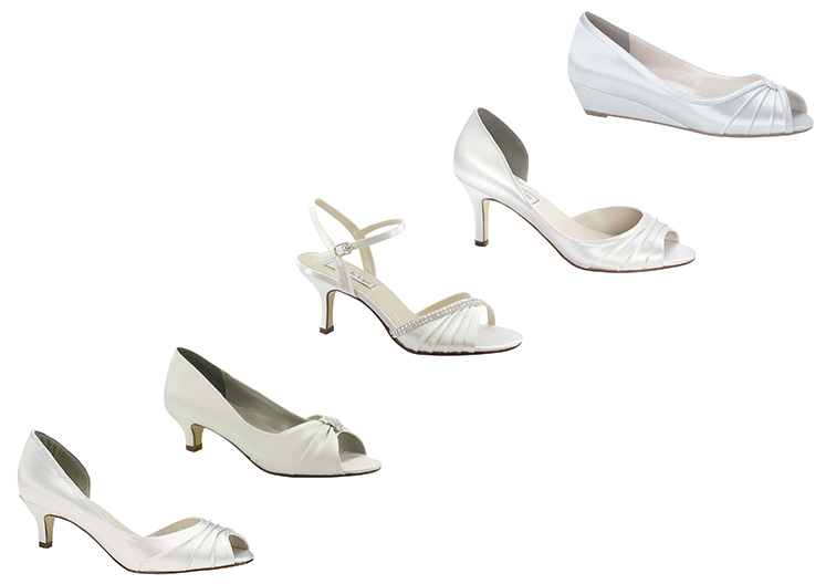 Shoe range from Astra Bridal www.astrabridal.co.nz
