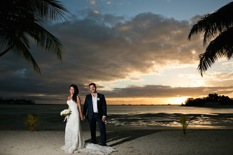 Astra Bride Christy | Gorgeous Fiji wedding | Images by ZoomFiji |