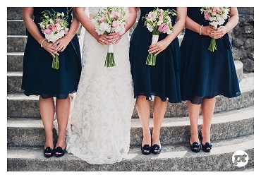 Blue wedding inspiration | Featured Bride Kate | Photography by Paul Tatterson | www.borrowedandblue.kiwi