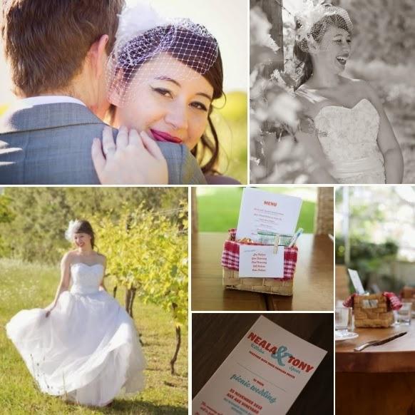 Picnic wedding | Stacey Milich Photography | gown from Astra Bridal | www.borrowedandblue.kiwi