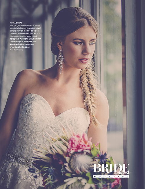 Bonny 8507 | Featured in Bride and Groom Magazine |