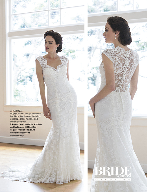 Maggie Sottero Londyn | Featured in Bride and Groom Magazine |