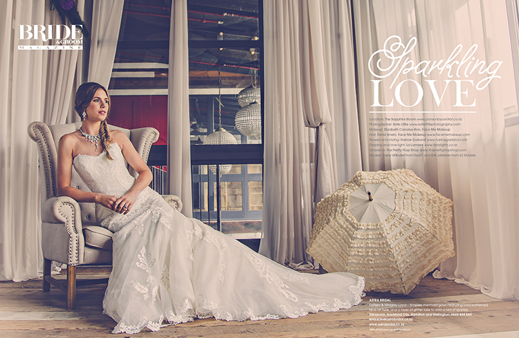 Maggie Sottero Lovai | Featured in Bride and Groom Magazine |