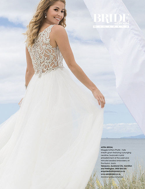 Maggie Sottero Phyllis | Featured in Bride and Groom Magazine |