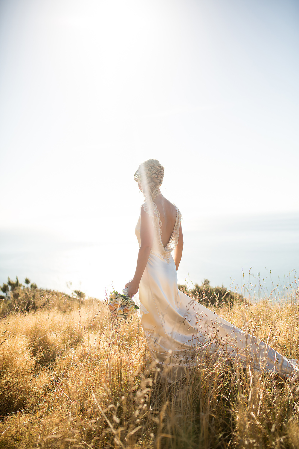 Wedding dress Dress from Astra Bridal | Photography Kirsty and Grant Photography | www.borrowedandblue.kiwi