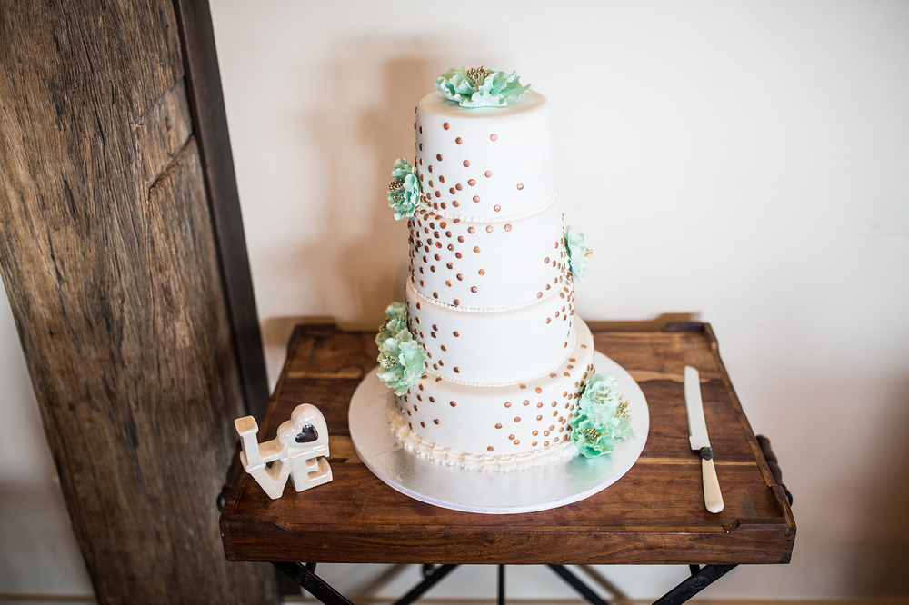 Vintage wedding cake Dress from Astra Bridal | Photography Kirsty and Grant Photography | www.borrowedandblue.kiwi