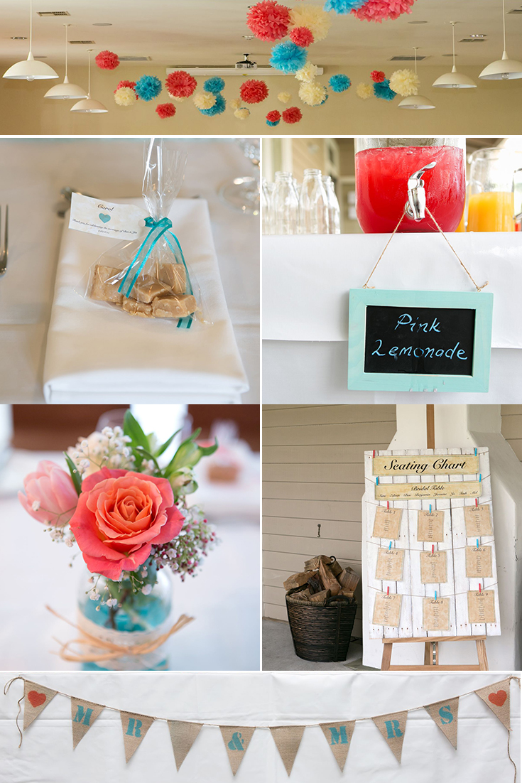Astra bride Jasmine | Teal and Coral inspiration  | Photography by Jo Moore |