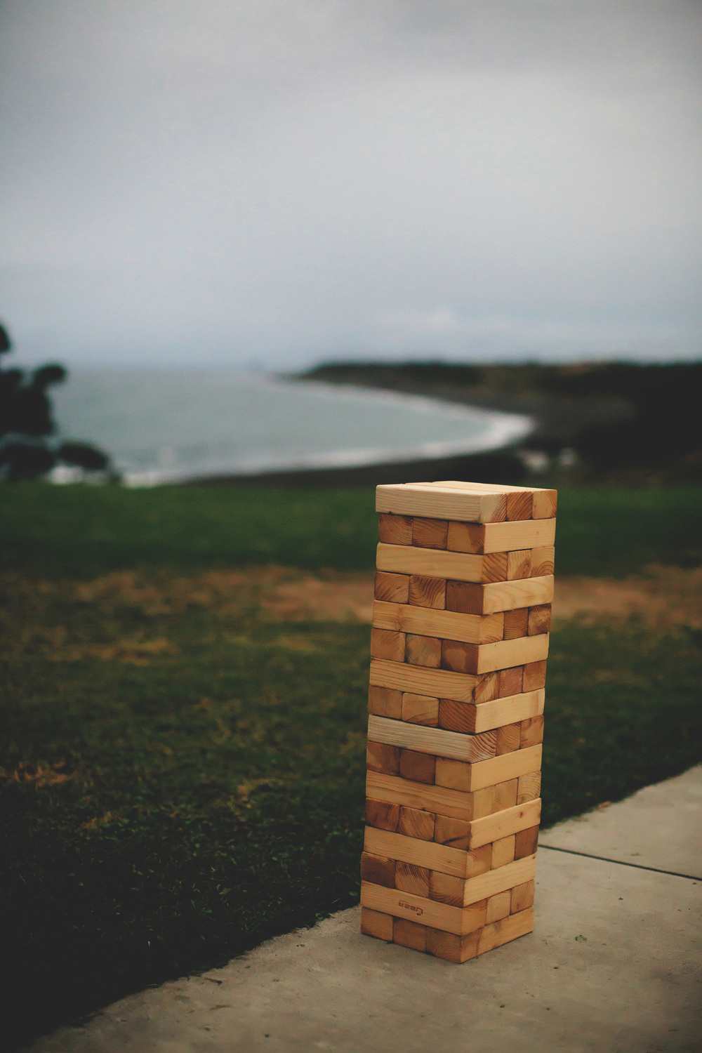 Giant jenga! | Featured Bride Danelle's Vintage wedding | Photography by Tammy Pittwood | www.borrowedandblue.kiwi